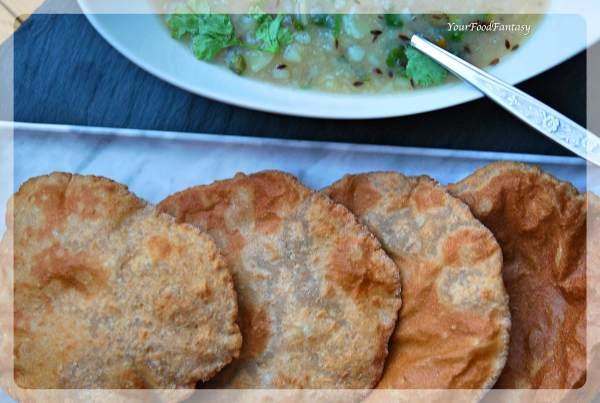 Kuttu Ki Puri Recipe | Buckwheat Flour Puri | Your Food Fantasy by Meenu Gupta