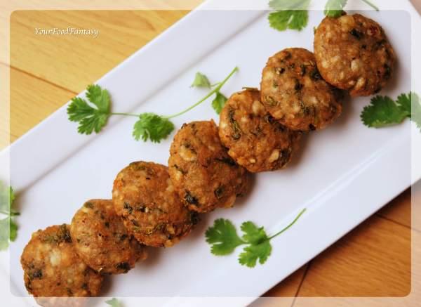 Makhane Ke Cutlet - Lotus Seeds Cutlet Recipe | Your Food Fantasy
