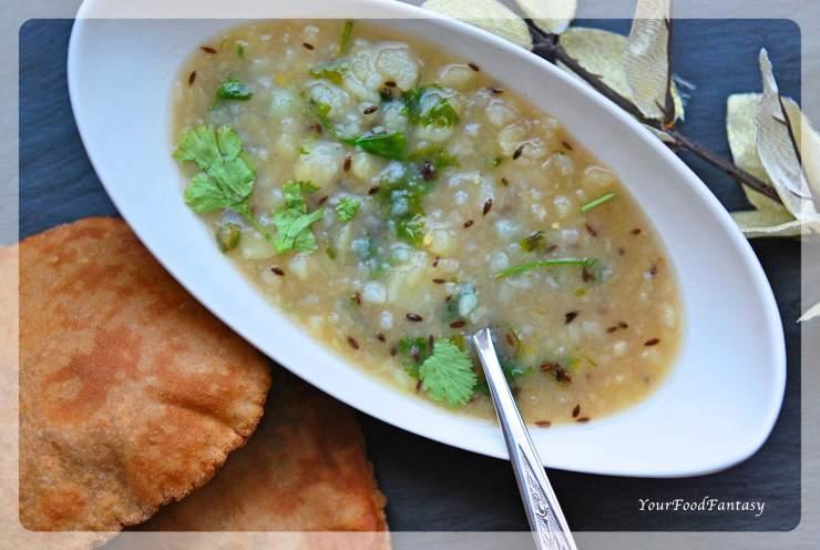 Vrat Special Aalo Ke Sabzi | Potato Curry for Navratri | Your Food Fantasy