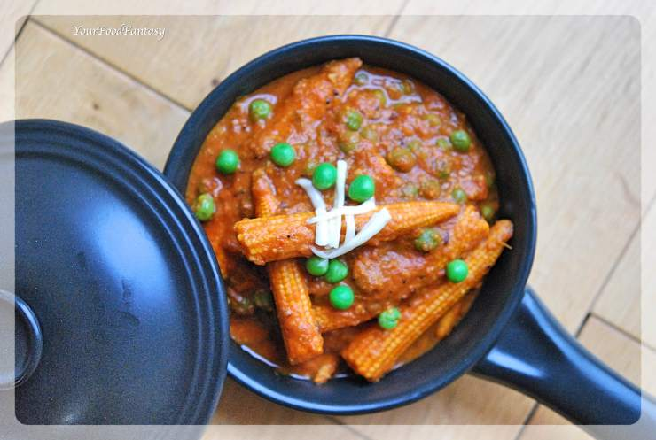 Baby Corn Masala Recipe | Your Food Fantasy by Meenu Gupta