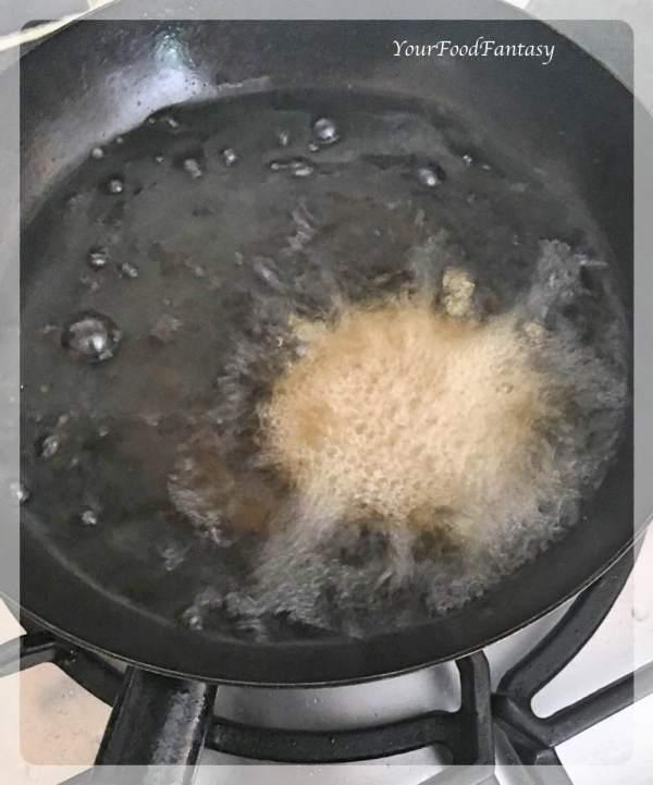Frying Matar Kachori | Your Food Fantasy