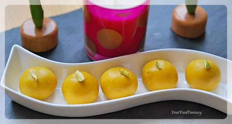 Homemade Besan Ladoo | Your Food Fantasy
