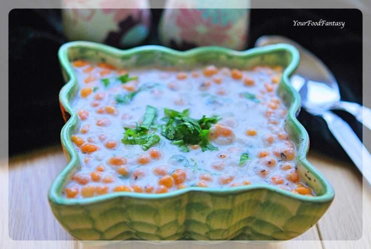 Boondi Raita - Quick & Easy Yoghurt Dip Recipe | Your Food Fantasy