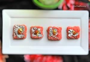 Rose Coconut Burfi Recipe | Indian Sweet Recipe | Your Food Fantasy