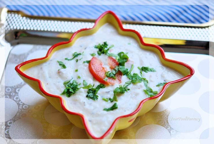 Vegetable Raita Recipe | YourFoodFantasy.com