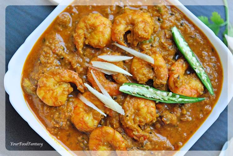 Ginger Garlic Prawns Recipe | Your Food Fantasy by Meenu Gupta