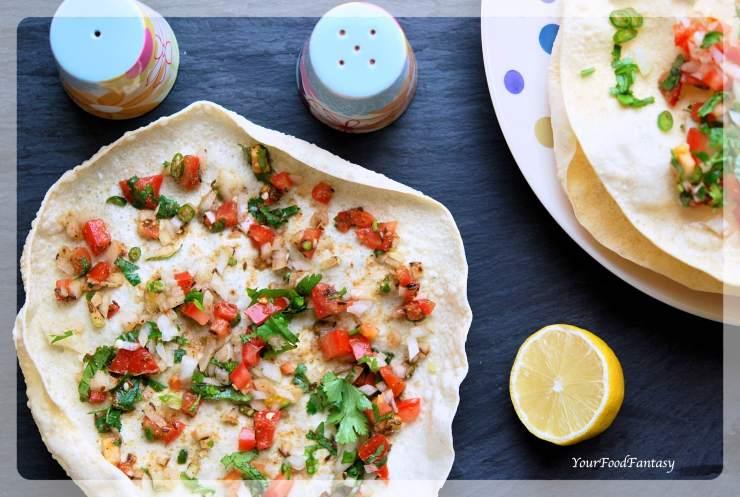 Masala Papad - Poppadam | Your Food Fantasy