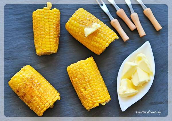 Nandos Style Corn On The Cob Recipe | Your Food Fantasy