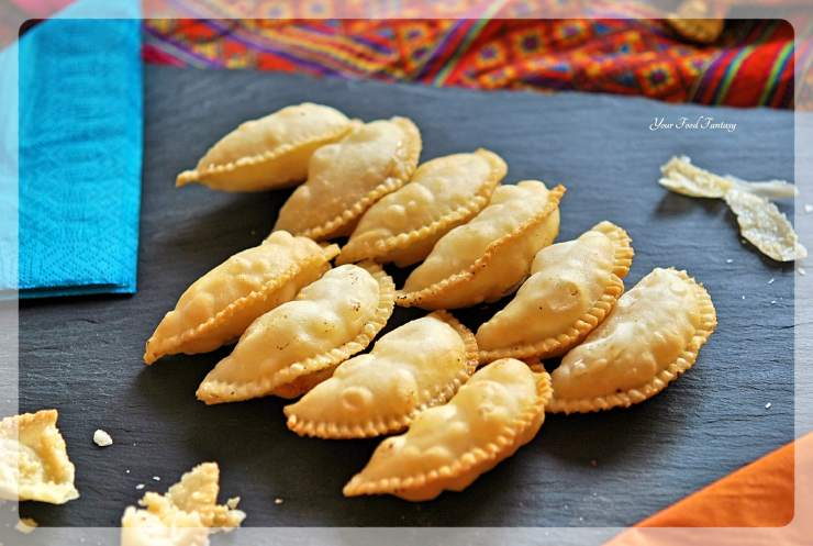 Traditional Gujiya | Your Food Fantasy