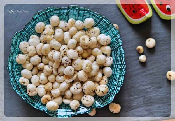 Roasted Makhana Recipe   Your Food Fantasy
