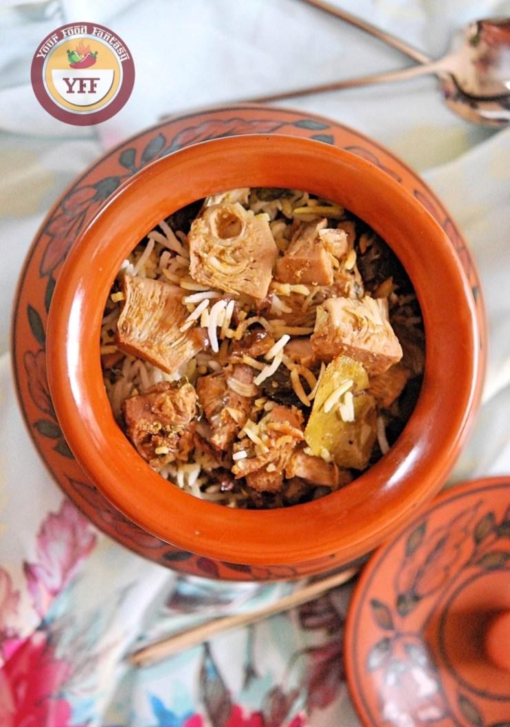 Kathal Biryani Recipe   Your Food Fantasy by Meenu Gupta