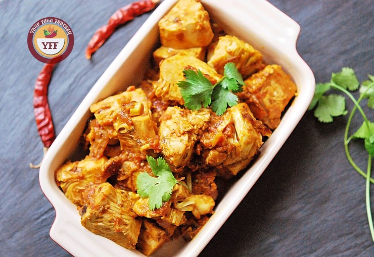 Kathal Ke Sabzi | Jackfruit Masala - Jackfruit Recipes