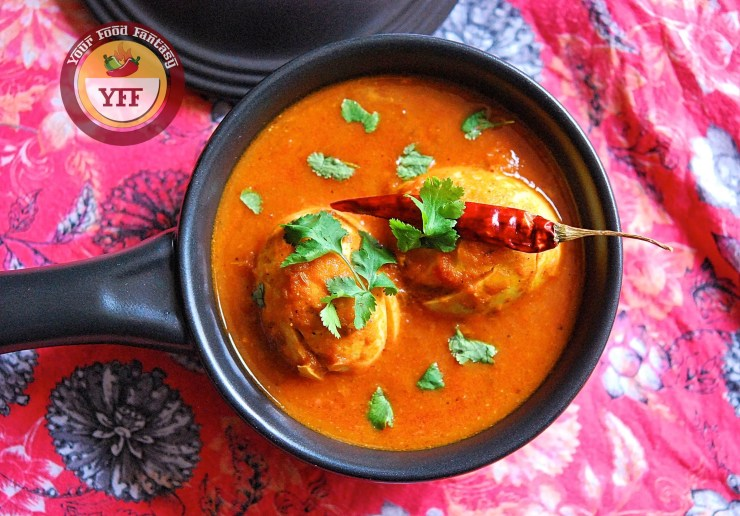 South Indian Egg Curry Recipe | Your Food Fantasy