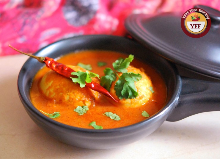 South Indian Egg Curry Recipe | YourFoodFantasy.com