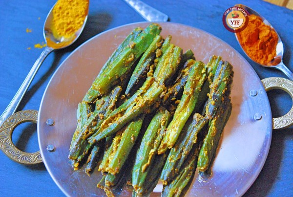 Bharwa Bhindi | Stuffed Okra Recipe | YourFoodFantasy.com