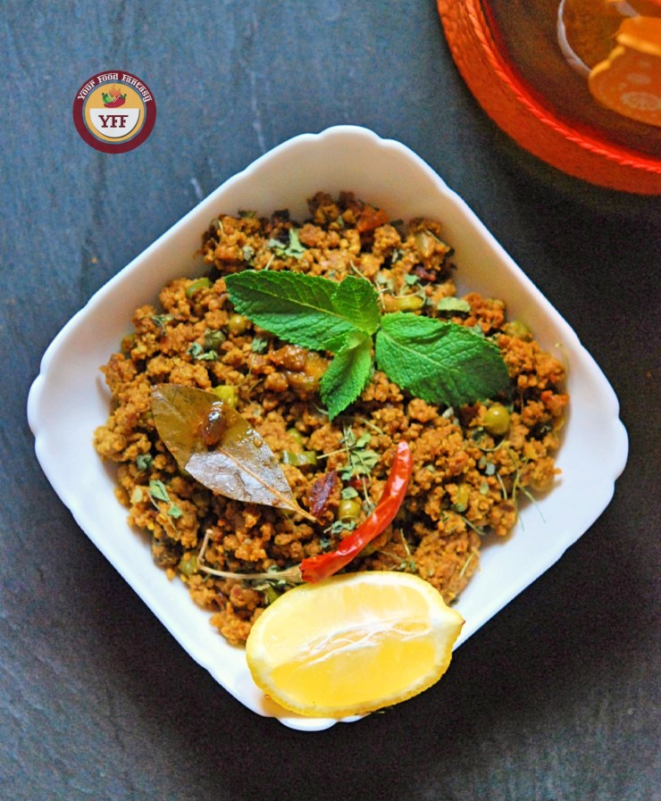 Lamb Keema - Minced Lamb Recipe | YourFoodFantasy.com