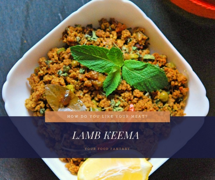Lamb Keema | MInced Lamb Recipe