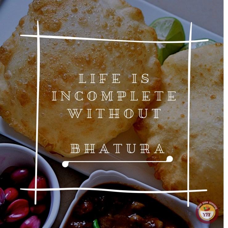 Punjabi Bhatura Recipe | Your Food Fantasy