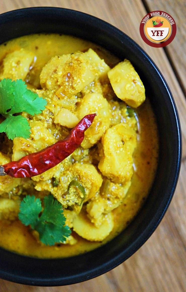 Dahi Arbi Recipe | Your Food Fantasy
