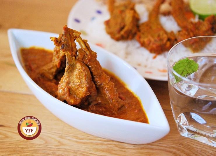 Lamb Chops Curry - Lamb Recipes | Your Food Fantasy