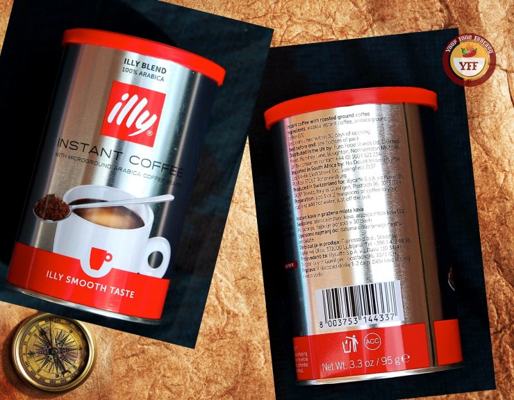 Illy Instant Arabica Coffee Review - Degustabox