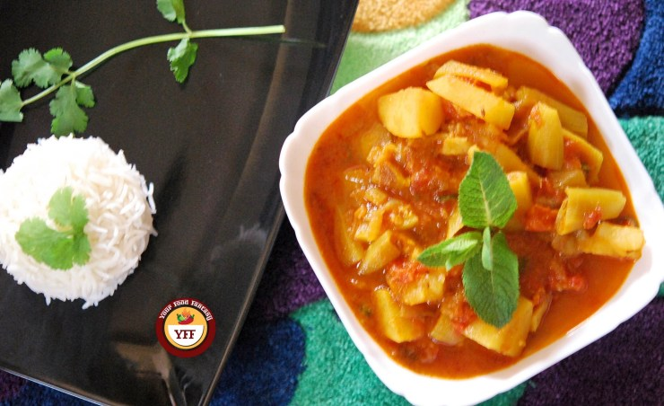 Parval Aalo Sabzi Recipe | Your Food Fantasy