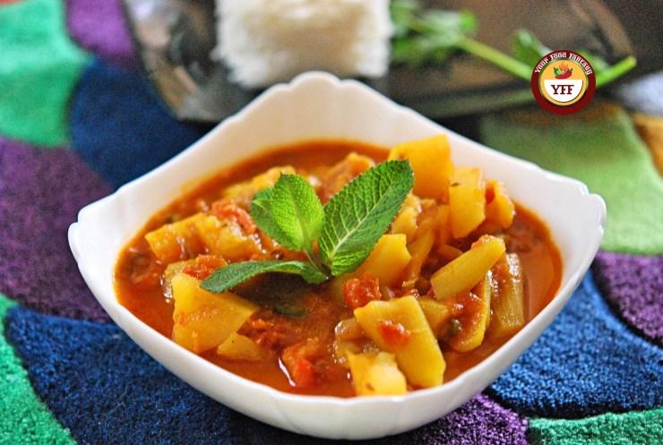Parval Aalo Sabzi | Your Food Fantasy