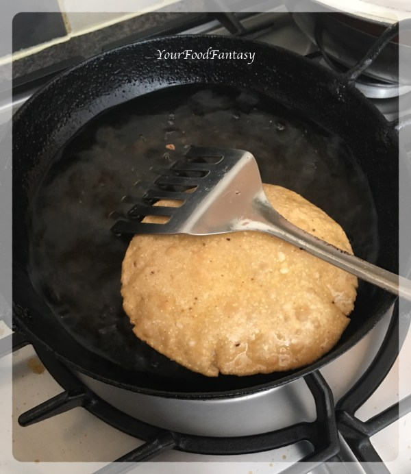 Frying Puri - Bedmi Puri Recipe | Your Food Fantasy