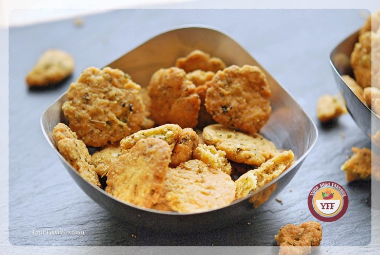 Crispy Mathri Recipe - Savoury Recipe | YourFoodFantasy.com