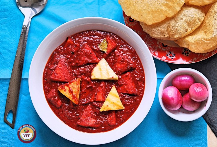 Beetroot Paneer Curry | Paneer Recipe | Your Food Fantasy