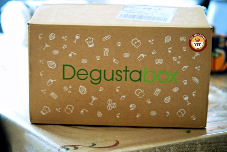 Degustabox November 2018 Review by YourFoodFantasy.com