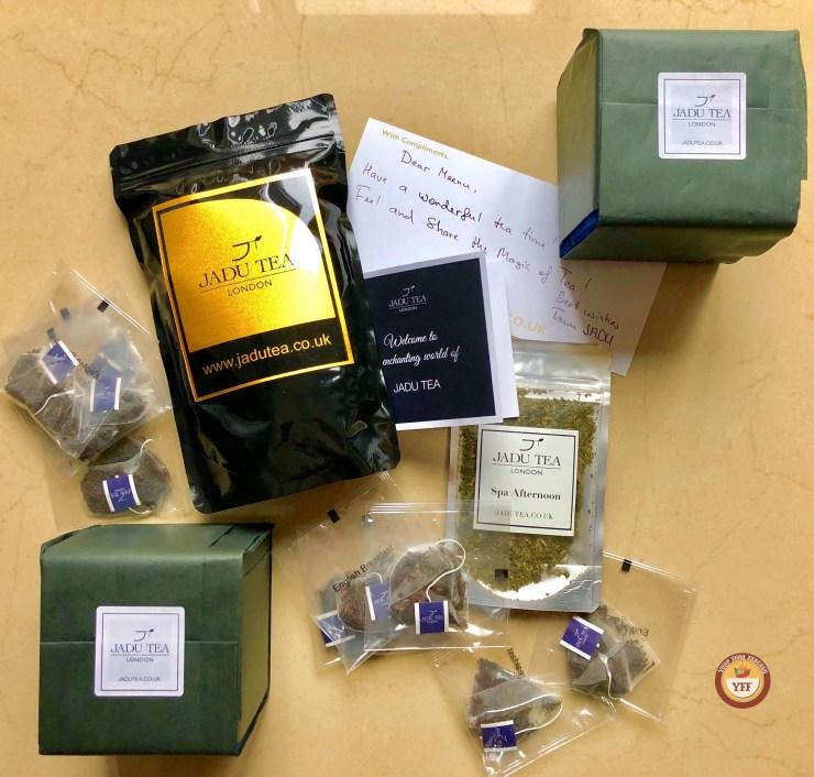 Jadu Tea - Luxury Tea Review | YourFoodFantasy.com