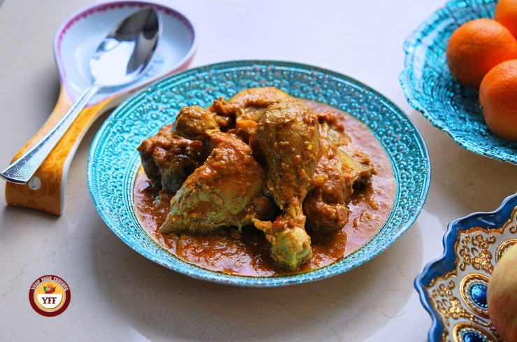 Chicken Korma Recipe | Keto Diet Recipe - YourFoodFantasy.com