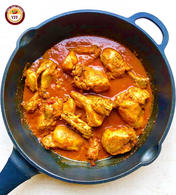 Chicken Korma Recipe for Keto Diet | YourFoodFantasy.com