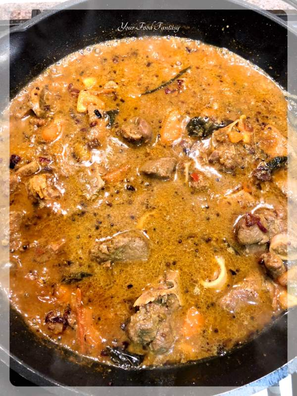 Home made Chettinad Mutton Curry | YourFoodFantasy.com