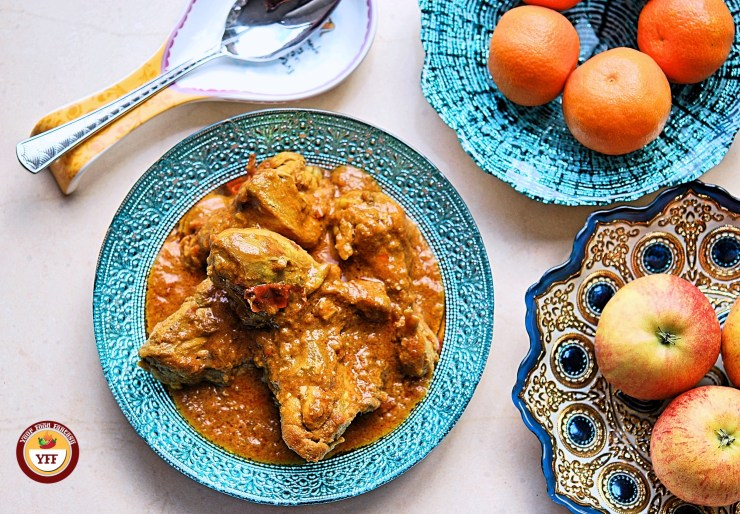 Keto Chicken Korma | Ketogenic Chicken Recipe | YourFoodFantasy.com