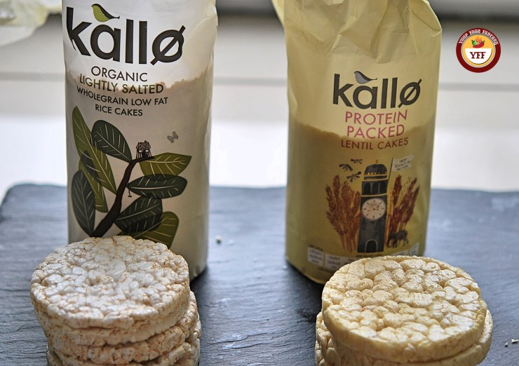 Kallo Rice and Lentils cake - review by YourFoodFantasy.com