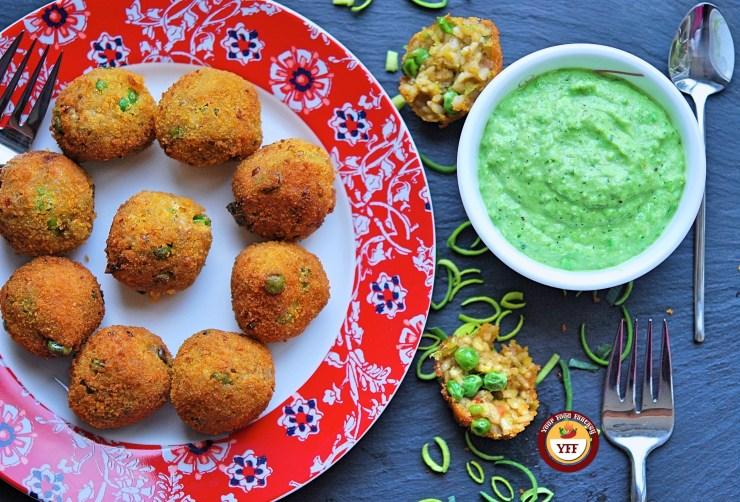 Vegan Leek and Pea Aranchini Recipe - Leek Recipes | Your Food Fantasy