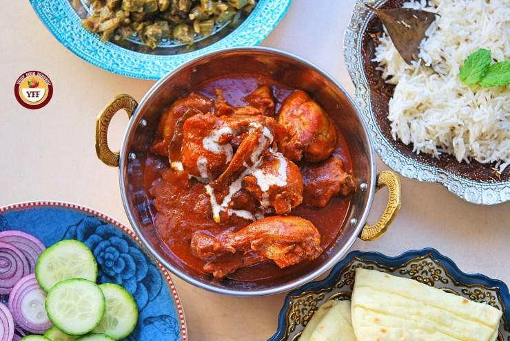 Ghee Roast Tandoori Chicken Recipe | YourFoodFantasy.com