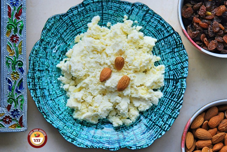 Instant Mawa - Khoa recipe using Ricotta Cheese| YourFoodFantasy.com