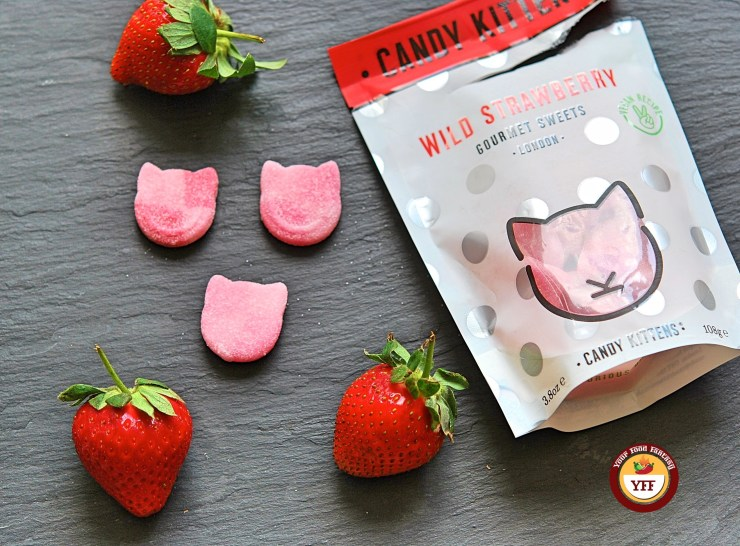 Candy Kittens Wild Strawberry review by Your Food Fantasy
