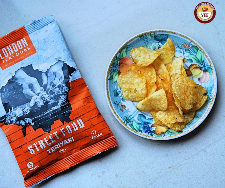 London Flavour Teriyaki Crisps review by Your Food Fantasy