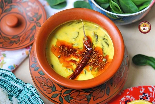 Palak Ke Kadhi | Your Food Fantasy