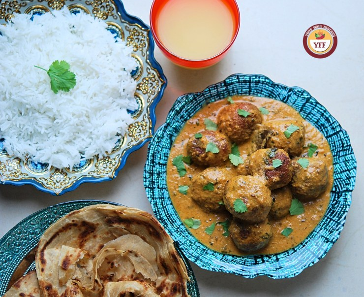 Cabbage Kofta Curry Recipe - YourFoodFantasy.com