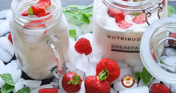 Strawberry BreakfastShake - NutryBuddyUK - Your Food Fantasy