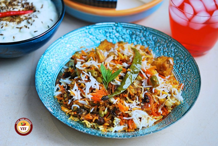 Vegetable Biryani Recipe - Your Food Fantasy