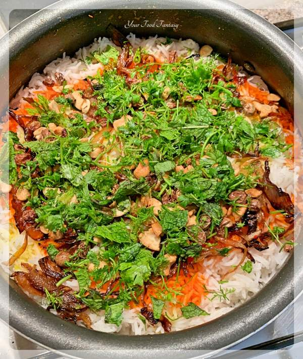 Vegetable Dum Biryani Recipe - Your Food Fantasy