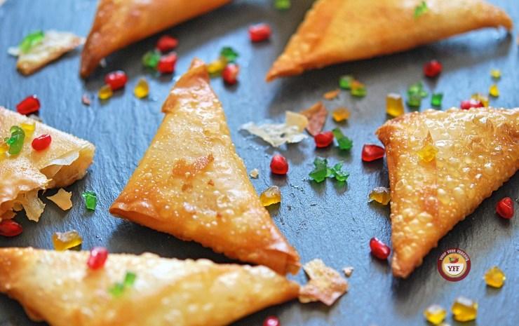 Apple Pie Samosa - Apple Recipes | YourFoodFantasy.com