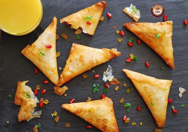 Apple Pie Samosa Recipe - Apple Recipes | Your Food Fantasy