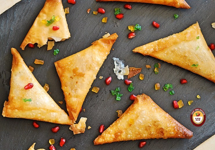 Apple Pie Samosa | YourFoodFantasy.com